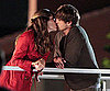 Slide Photo of Ashton Kutcher and Jennifer Garner Kissing on Set of Valentine's Day