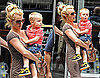 Photos of Britney Spears and Jayden James Spears Federline in NYC, Reports Britney Asked Jason Trawick For Space