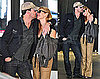 Photos of Jon Hamm and Jennifer at LAX