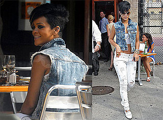 Photos of Rihanna in NYC, Chris Brown to Appear on Larry King Live