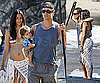 Photos of Pregnant Camila Alves In A Bikini On The Beach With Matthew McConaughey and Levi