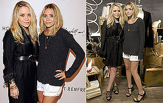 Photos of Mary-Kate and Ashley Olsen at Holt Renfrew In Toronto For Elizabeth and James