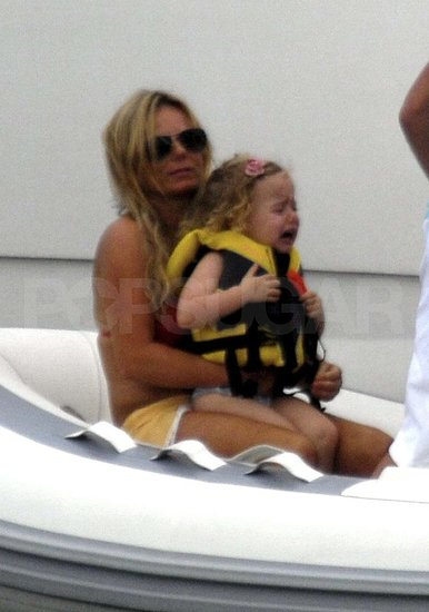Photos of Geri Halliwell in a Bikini with her Baby