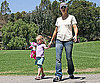 Photo Slide of Jennifer Garner And Violet Affleck at an LA Park