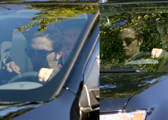 Photos of Robert Pattinson in Vancouver