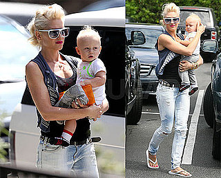 Photos of Gwen Stefani, Kingston Rossdale, and Zuma Rossdale in LA
