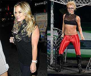 Photos of Britney Spears, Hilary Duff at Britney Concert at Madison Square Garden