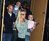 Photo Slide of Britney Spears with Sean Preston and Jayden James in NYC