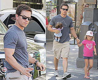 Photos of Mark Wahlberg And His Daughter At American Girl Place in LA