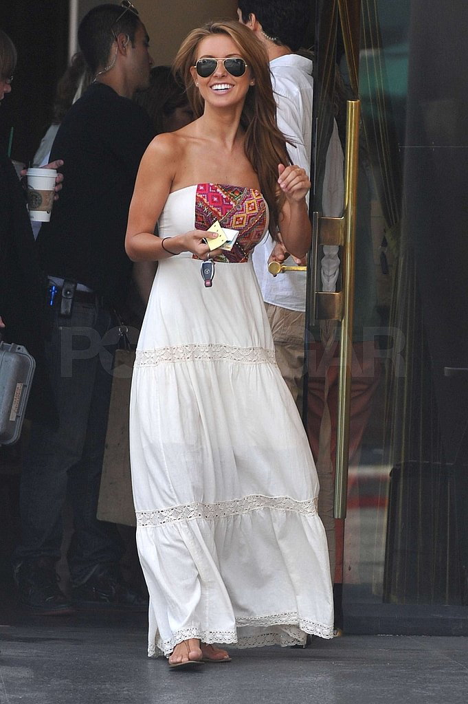 Photos of Audrina Filming Hills