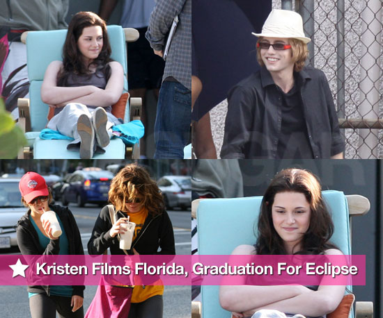 Photos of Kristen Stewart In Bella Swan Wig Filming Eclipse In Vancouver