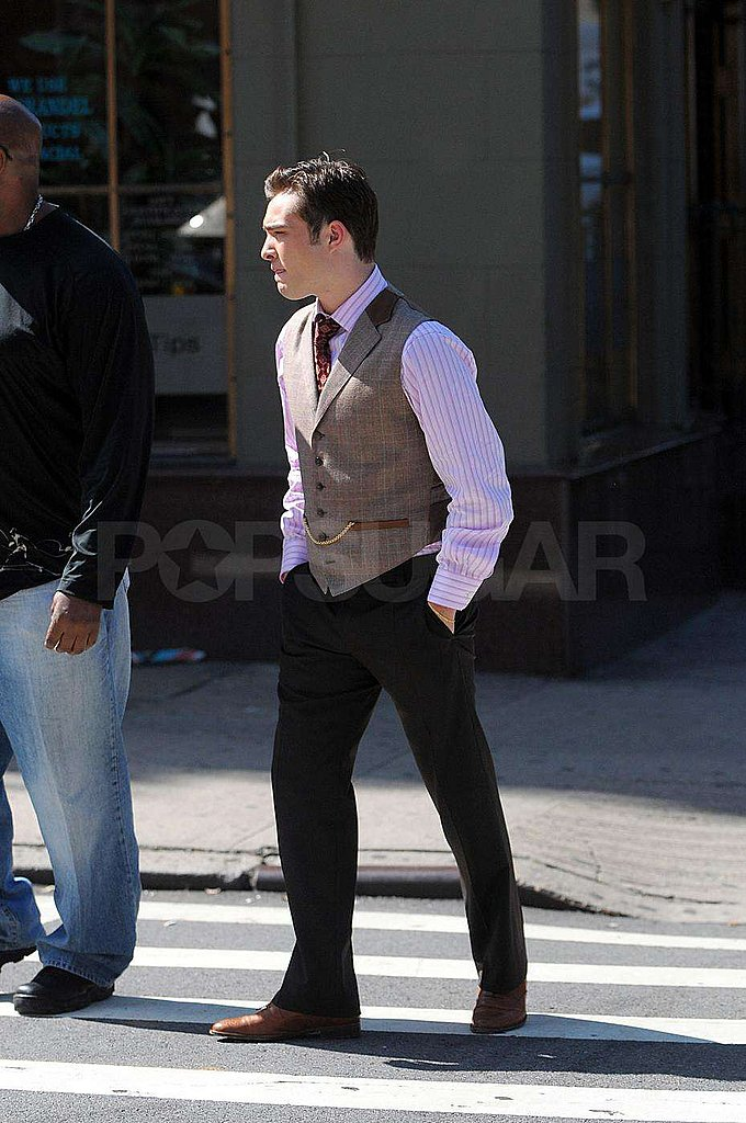 Photos of Gossip Girl Set