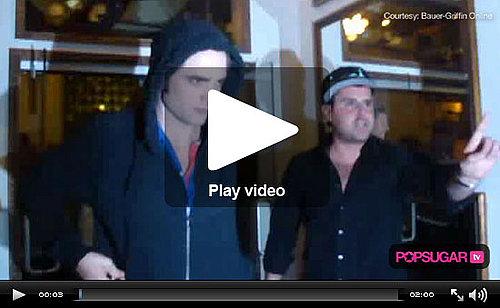 Video of Robert Pattinson At Cast Dinner In Vancouver, Video of Kristen Stewart on Eclipse Set