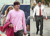 Photos of Patrick Dempsey, Who's Dealing With Heigl Leaving Grey's, on the LA Set of Valentine's Day With Ashton Kutcher