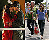 Photos of Jennifer Garner Making Out With Ashton Kutcher on the LA Set of Valentine&#039;s Day
