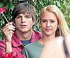 Photo Slide of Jessica Alba And Ashton Kutcher Filming Valentine's Day in LA