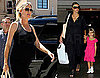 Photos of Pregnant Heidi Klum With Daughter Leni in LA