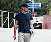 Slide Photo of Adam Brody with Sunglasses in LA