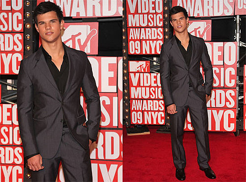 Photos of Taylor Lautner on Red Carpet at 2009 MTV VMAs 2009-09-13 17:48:31