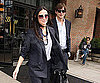 Slide Photo of Demi Moore and Ashton Kutcher Leaving Hotel During Fashion Week in NYC