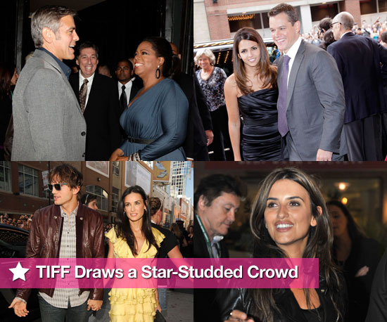 Photos of Matt Damon, George Clooney, Penelope Cruz, Demi Moore, Megan Fox at Toronto Film Festival