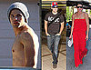 Photos of Twilight's Peter Facinelli, Kellan Lutz, And Ashley Greene Spending Their Weekend in LA