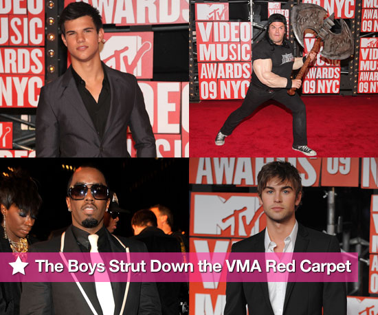 The Boys Strut Down the VMA Red Carpet