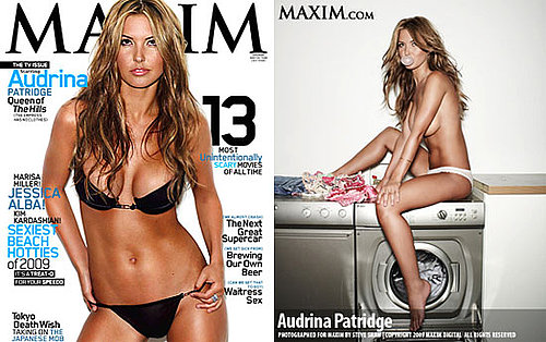 Photos of Audrina Patridge in Maxim October Topless and in Bikini With Cupcakes 2009-09-09 07:45:00
