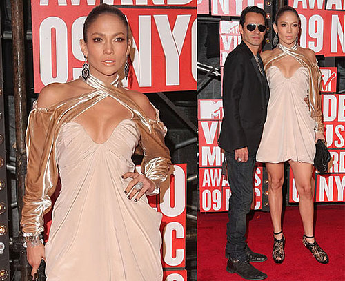Photos of Jennifer Lopez and Marc Anthony at 2009 MTV VMAs