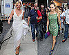 Photos of Sarah Jessica Parker And Kim Cattrall in a Wedding Dress on The Set of Sex and the City 2 in NYC