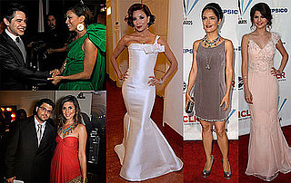 Photos of Red Carpet, Stage, Press Room at 2009 ALMA Awards, Salma Hayek, Eva Longoria, Selena Gomez