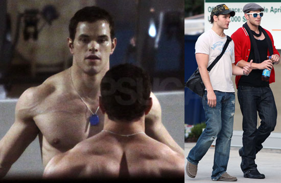 Photos of Hot Kellan Lutz and Peter Fac