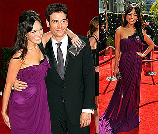 Photos of Lindsay Price and Josh Radnor at 2009 Primetime Emmys