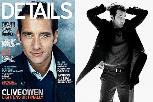 Photos and Quotes From Clive Owen in Details October 2009 2009-09-16 10:00:00