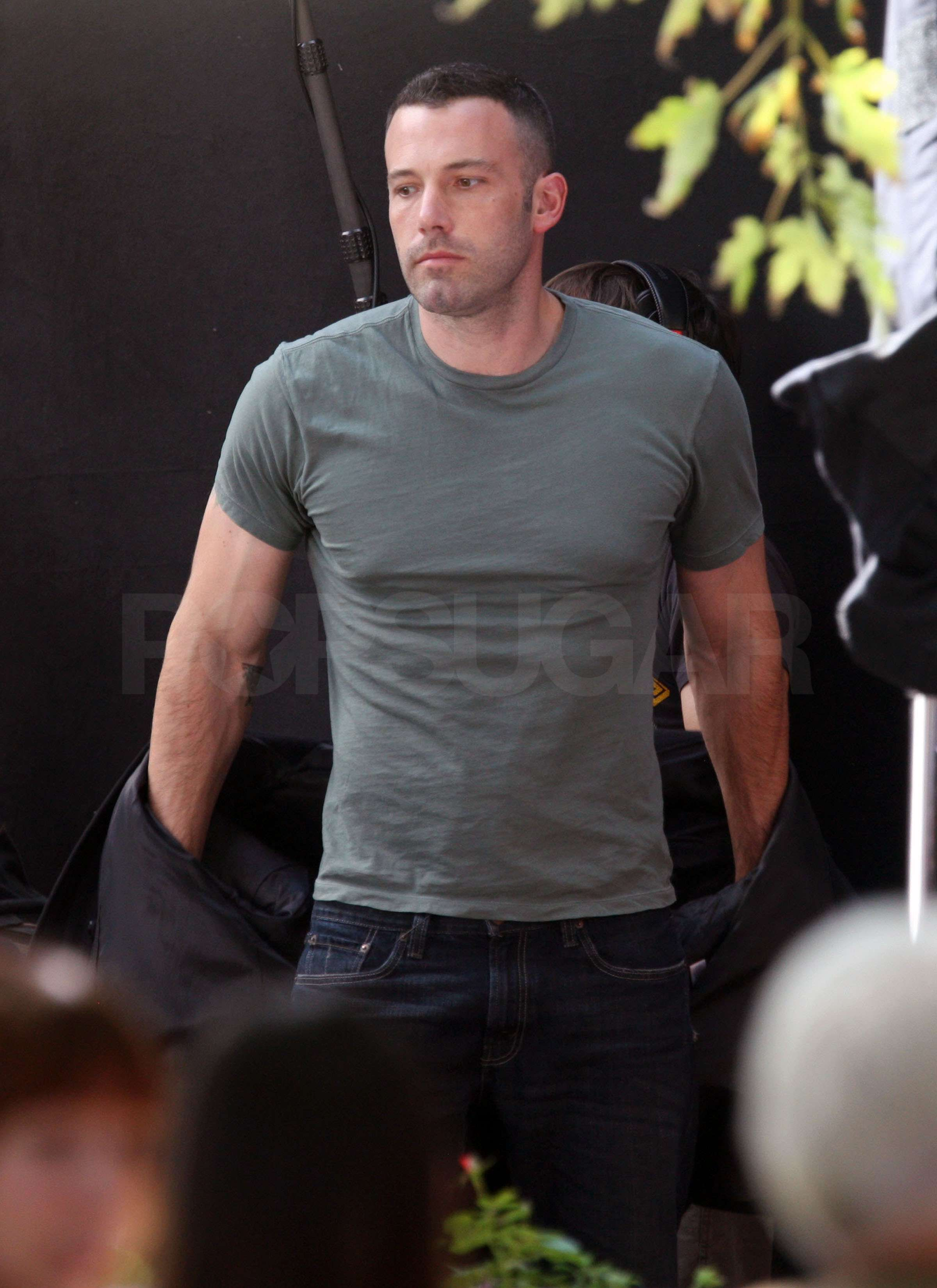 Doesn't Look Like Ben Affleck Needed Much Padding On The ...