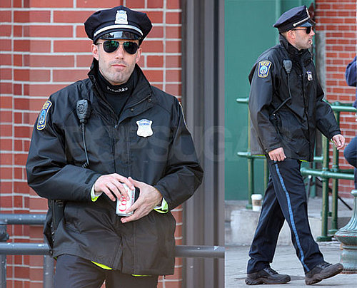 Photos of Ben Affleck in a Cop Outfit on The Boston Set of The Town