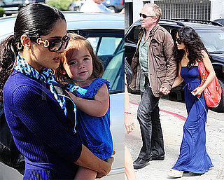 Photos of Salma Hayek, Valentina Pinault, Francois-Henri Pinault Out in LA