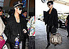 Photos of Rihanna at LAX While Chris Brown Tweets He Feels Incomplete