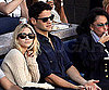 Slide Photo of Ashley Olsen at Justin Bartha at Men's Finals US Open