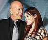 Slide Photo of Bruce Willis and Rumer Willis at the Surrogates Premiere in LA