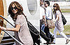 Photos of Jennifer Lopez And Marc Anthony Leaving Miami on a Private Jet