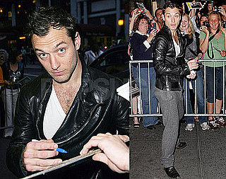 Photos of Jude Law On The Day His Baby Mama Gave Birth