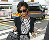 Slide Photo of Victoria Beckham Arriving at Heathrow After London Fashion Week