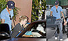 Photos of David Beckham, Romeo Beckham, Brooklyn Beckham, Cruz Beckham in LA