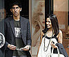 Slide Photo of Freida Pinto, Dev Patel Shopping in London