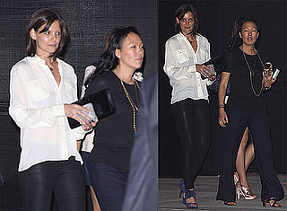 Photos of Katie Holmes and Jeanne Yang Debuting Holmes & Yang at Maxfield in LA