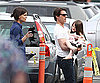 Slide Photo of Tom Cruise and Katie Holmes with Suri on Set of Wichita in Boston