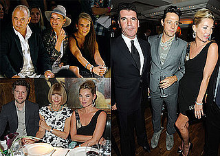 Photos of Kate Moss, Jamie Hince, Naomi Campbell, Simon Cowell, And Philip Green at London 2010 Spring Fashion Week