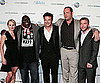 Slide Photo of Vince Vaughn, Kristen Bell, Faizon Love, Jason Bateman, Peter Billingsley at Couples Retreat Syndey Premiere