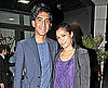 Slide Photo of Dev Patel and Freida Pinto out to Dinner in London